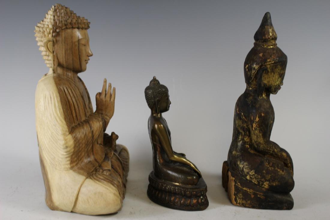 Three Buddha Statues - 5