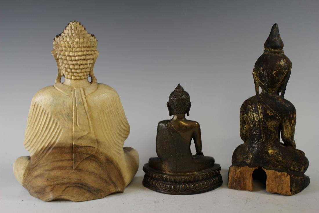 Three Buddha Statues - 6