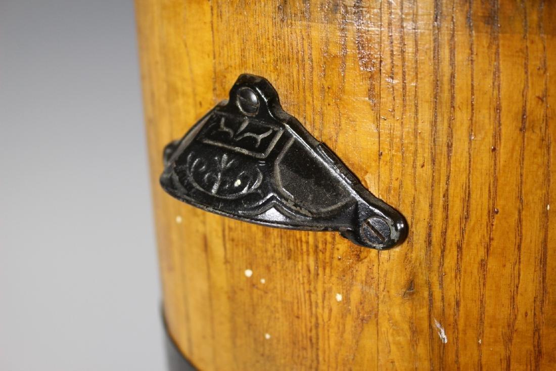 19th Century Oak Banded Barrel - 3