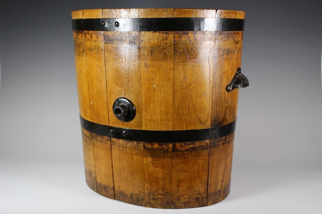 19th Century Oak Banded Barrel - 4