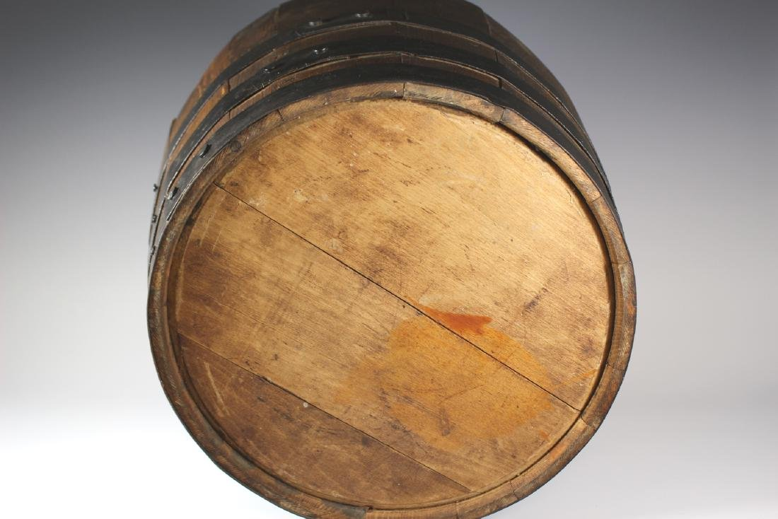 Antique Divvied Interior  Wine Barrel - 9