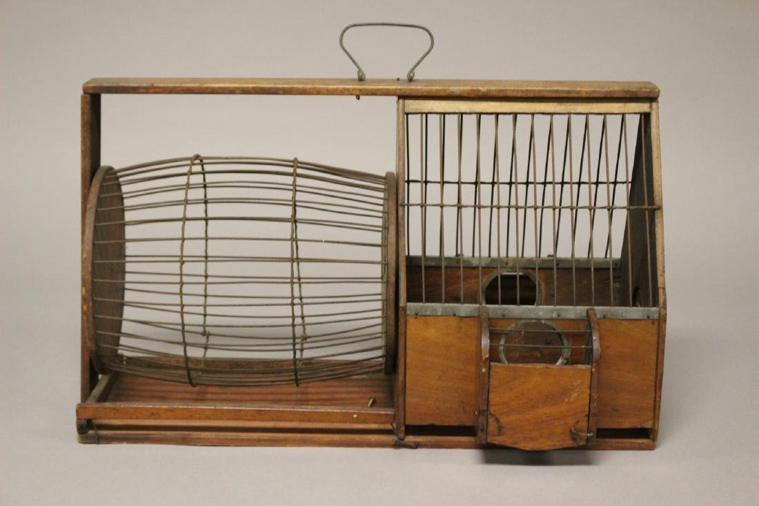 Early Wooden Hamster or Rodent Cage