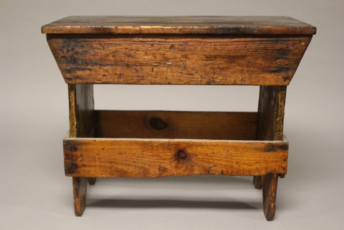 Country American Primitive Bench