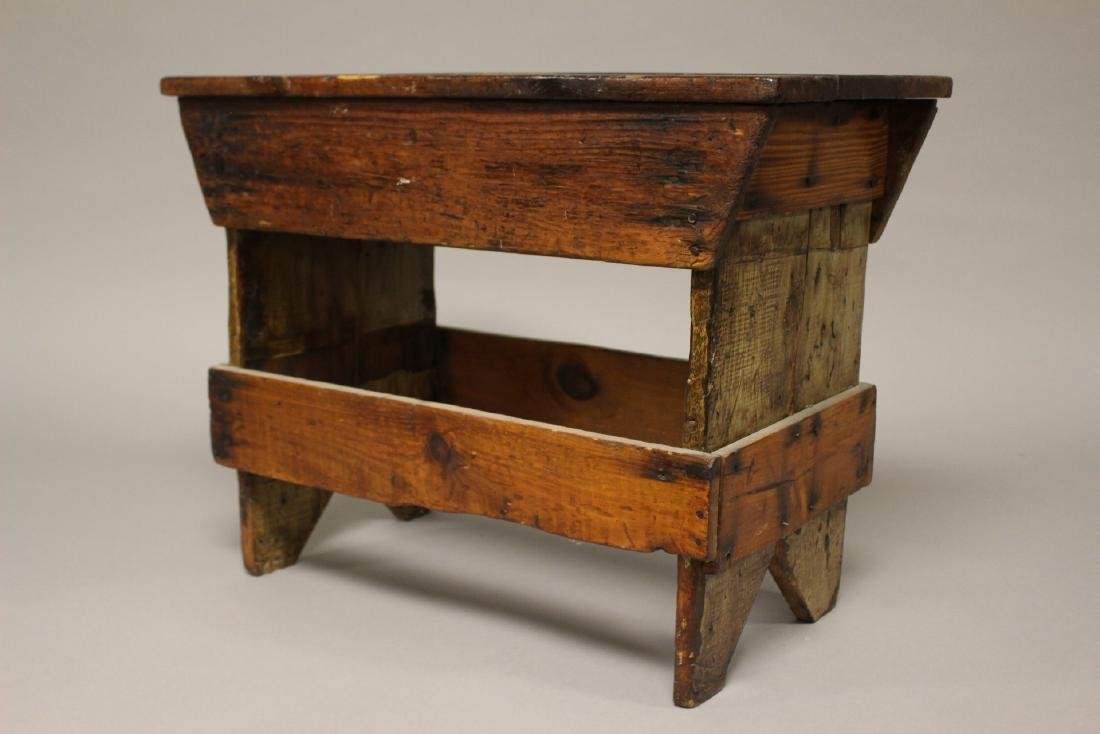 Country American Primitive Bench - 3
