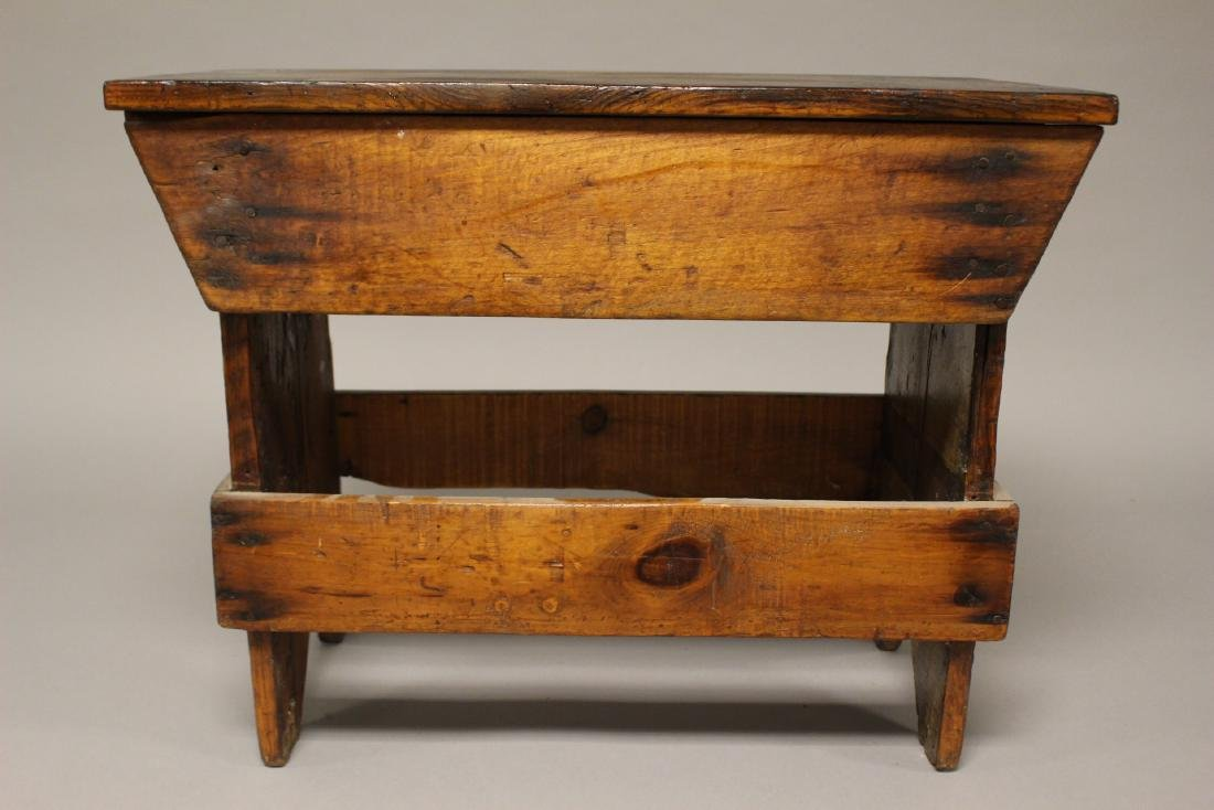 Country American Primitive Bench - 6