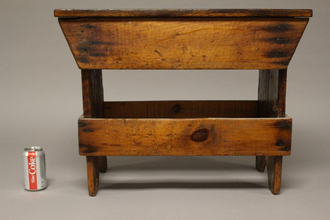 Country American Primitive Bench - 7
