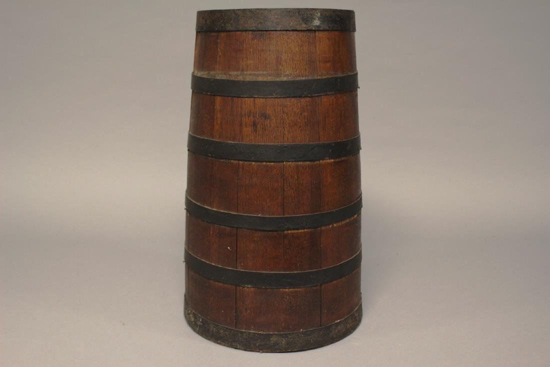 19th Century Primitive Wood Butter Churn