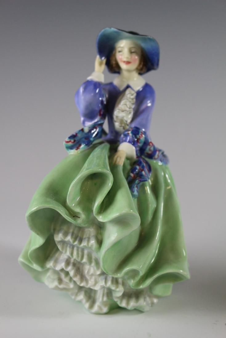 Three Royal Doulton Figurines - 5