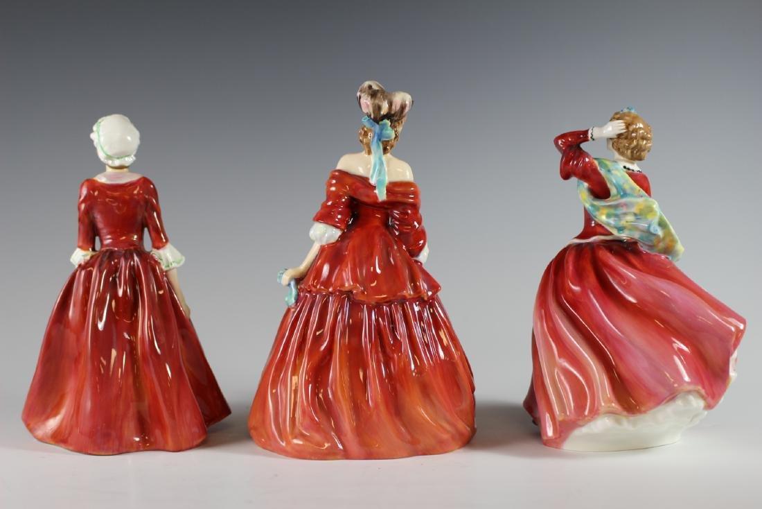 Three Royal Doulton Figurines - 3