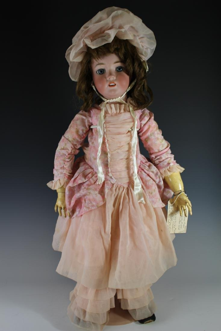 "Antique Simon & Halbig 1249 German 32"" Bisque Doll"