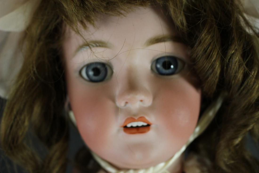 "Antique Simon & Halbig 1249 German 32"" Bisque Doll - 2"