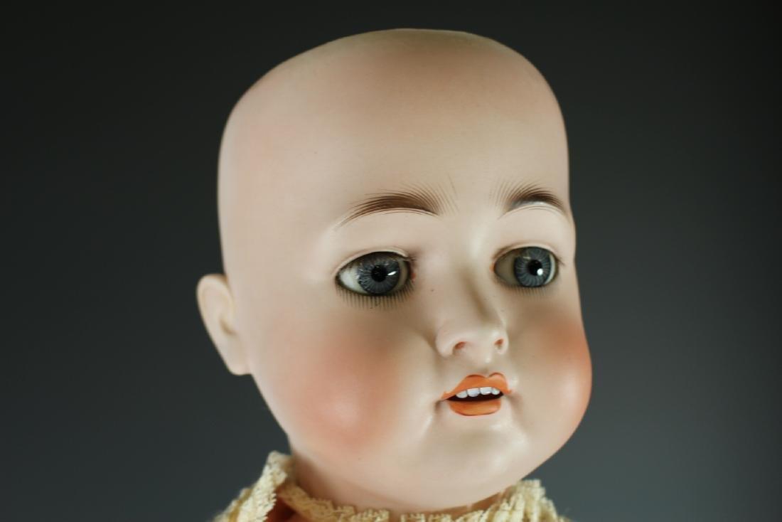 """Antique Hertel & Schwabb 136 German 30"""" Bisque Doll - 6"""