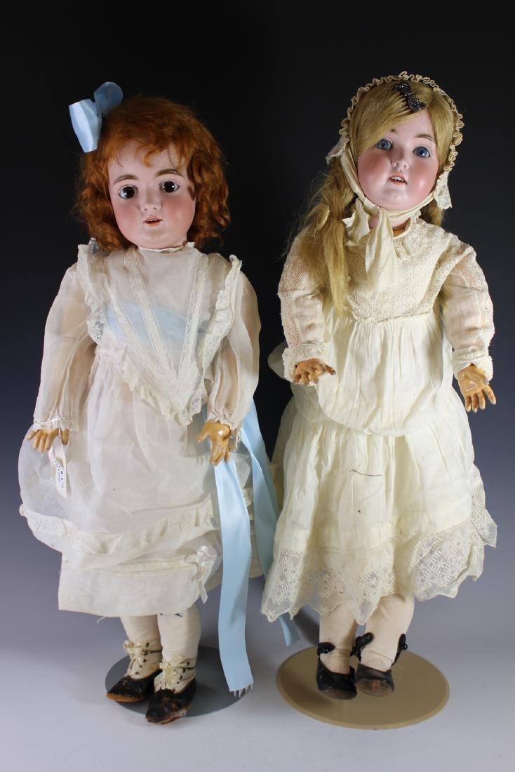 Two Antique Kestner German Dolls