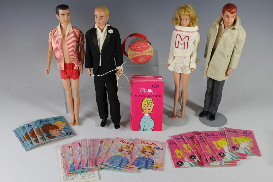 Four Ca. 1960s Mattel Dolls And Booklets/Brochures - 2