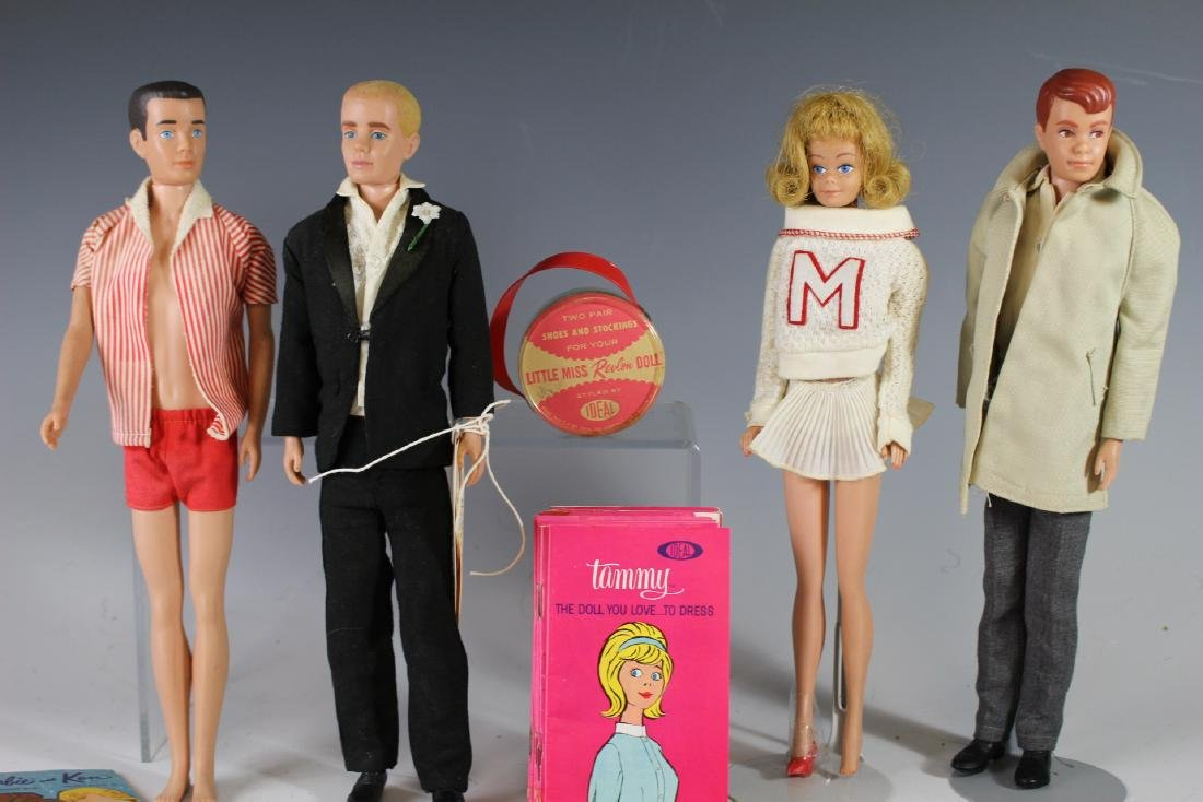 Four Ca. 1960s Mattel Dolls And Booklets/Brochures - 3