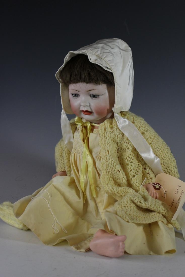 Four Antique German & Japanese Bisque Dolls - 3