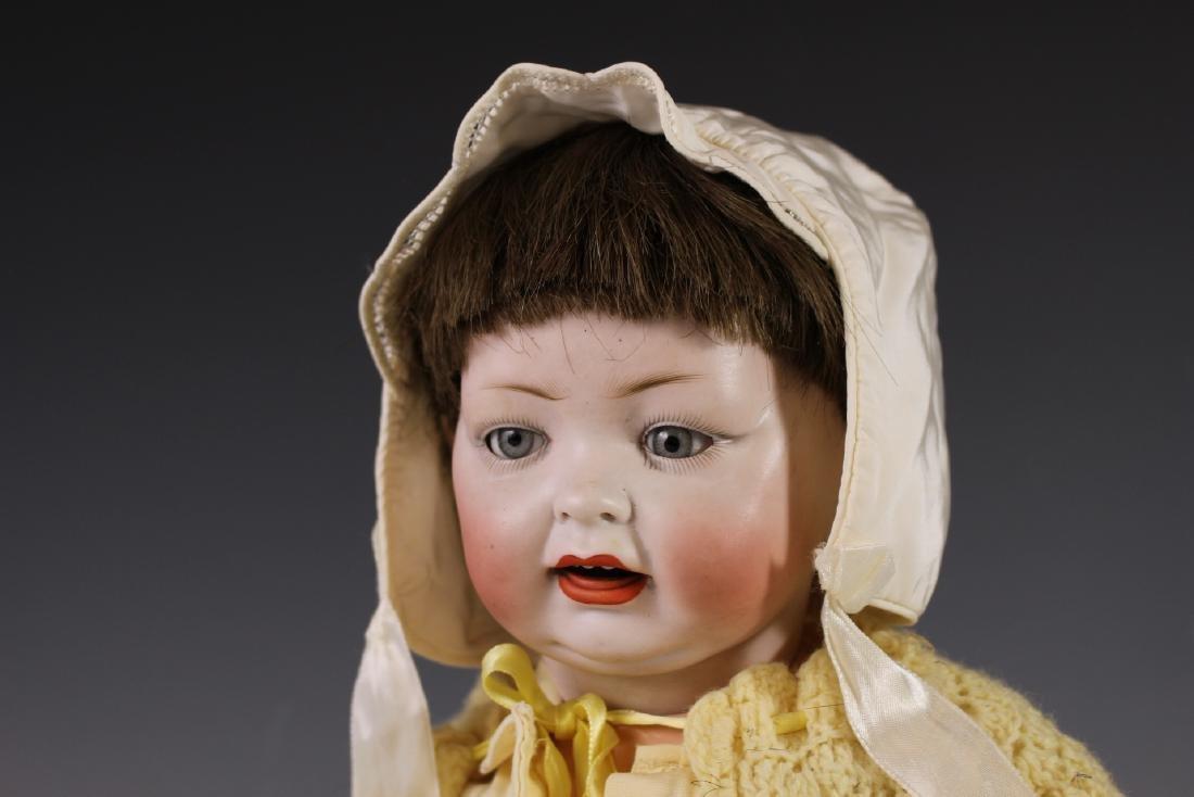 Four Antique German & Japanese Bisque Dolls - 4