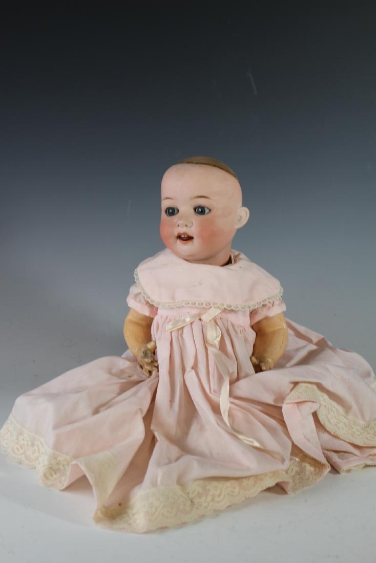 Four Antique German & Japanese Bisque Dolls - 5