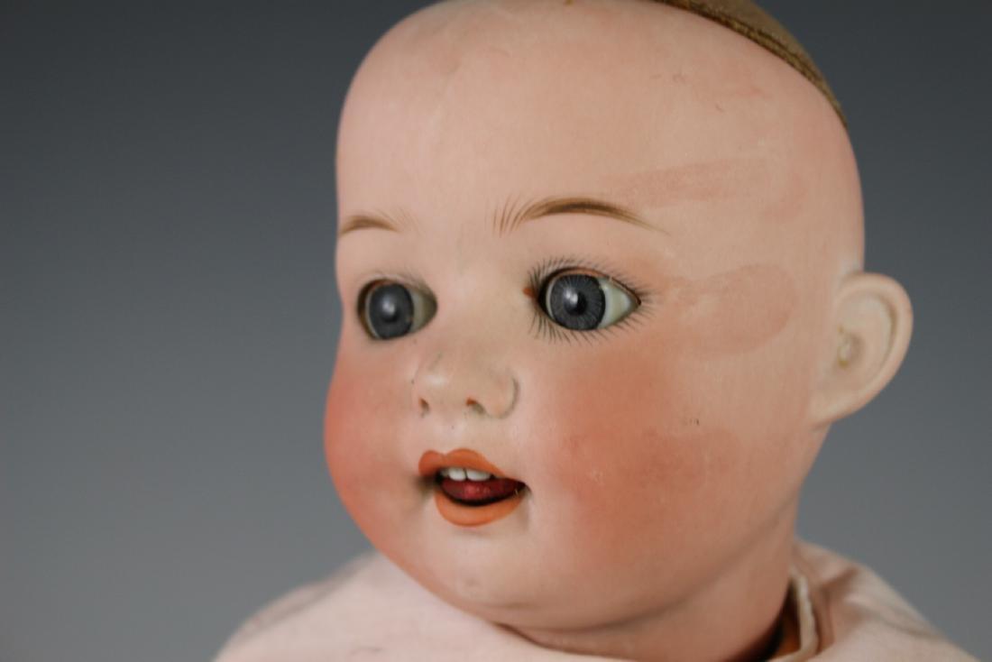 Four Antique German & Japanese Bisque Dolls - 6