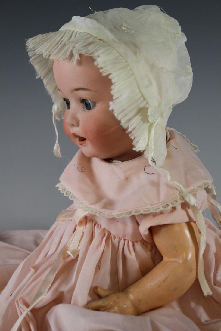 Four Antique German & Japanese Bisque Dolls - 7