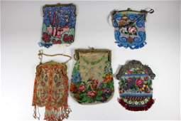 Group of Five Fine Ladies Handbags or Purses One