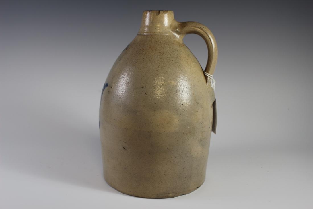 F.T.  Wright & Son Decorated Stoneware Crock Jug - 4