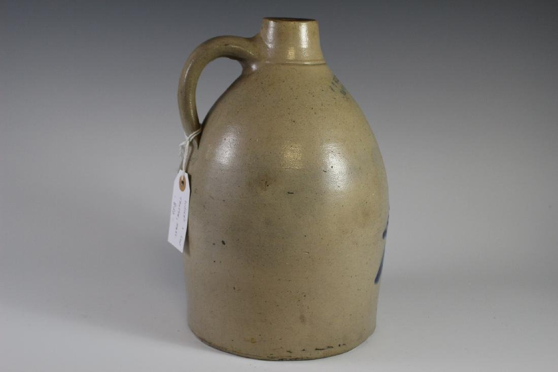 F.T.  Wright & Son Decorated Stoneware Crock Jug - 5