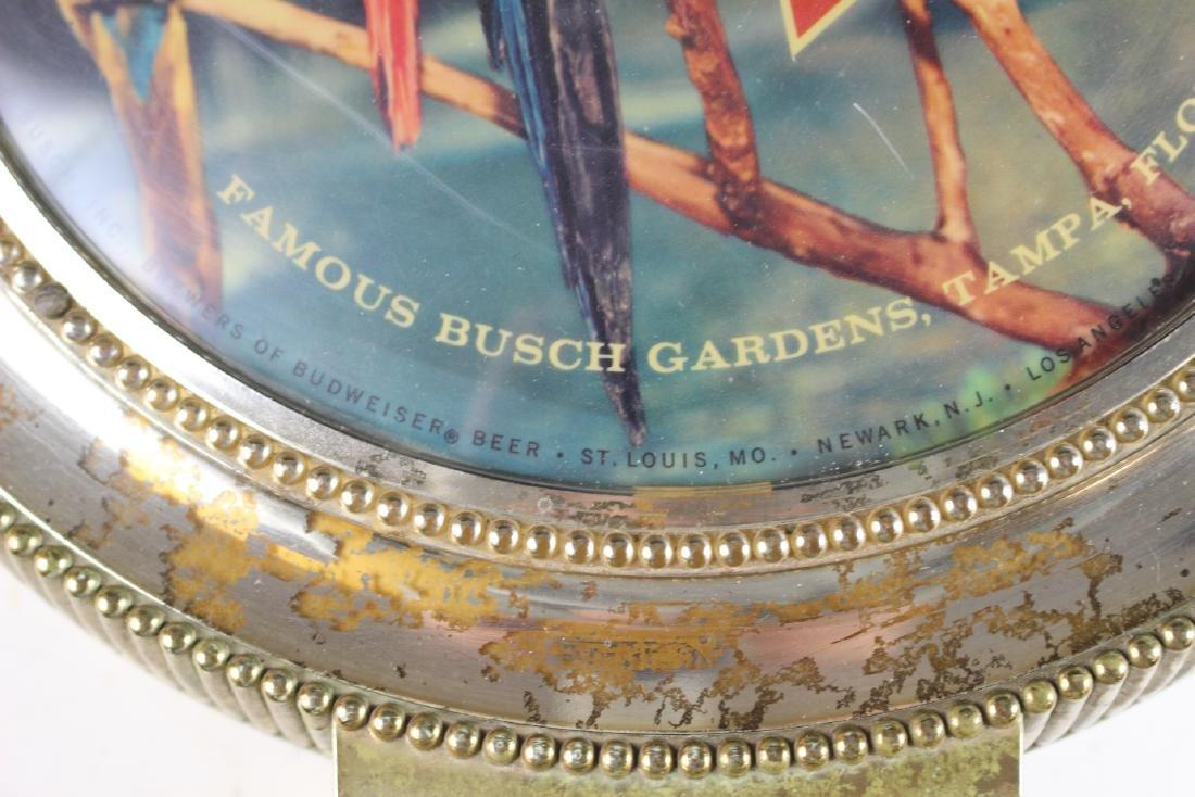 Vintage Budweiser Beer Light Busch Gardens - 3