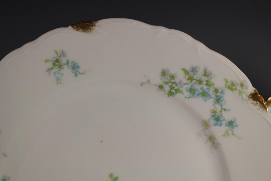 Eight C. Ahrenfeldt Limoges Dinner Plates - 2