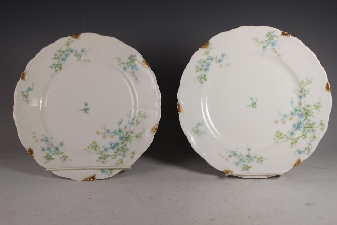 Eight C. Ahrenfeldt Limoges Dinner Plates - 5
