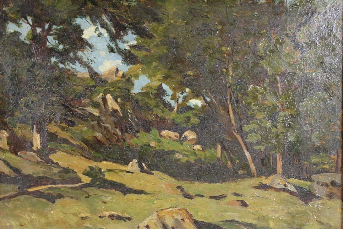 20th Century Landscape Painting  Oil on Canvas - 2