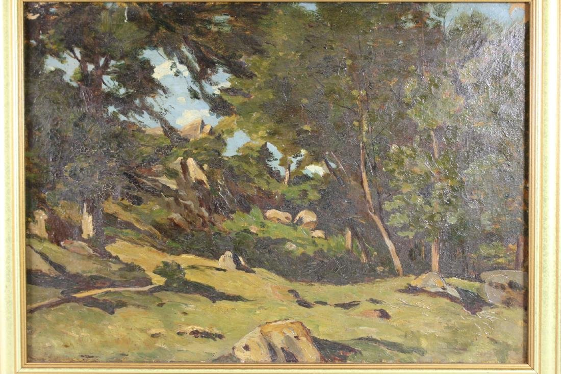 20th Century Landscape Painting  Oil on Canvas - 3