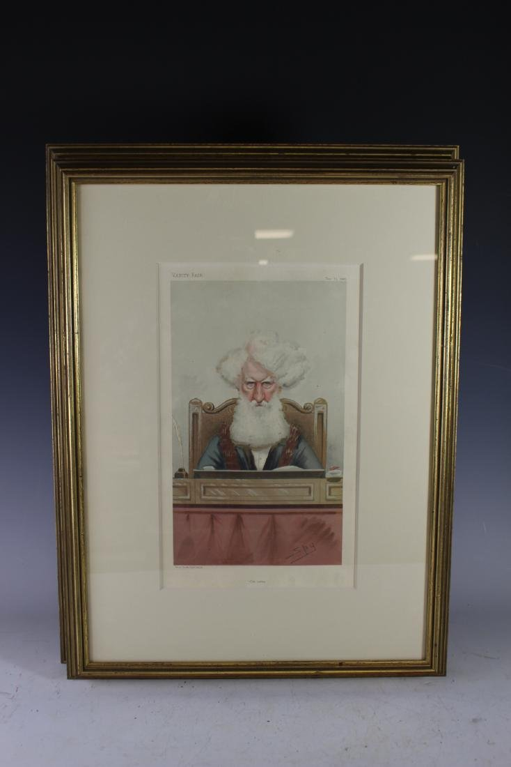 Two VANITY FAIR Framed Lithographs