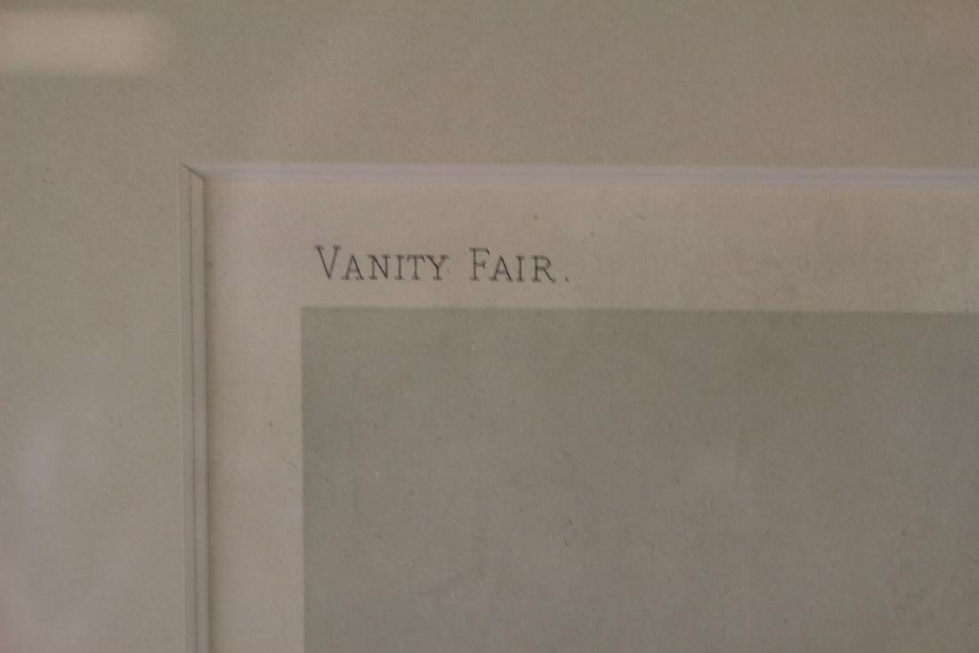 Two VANITY FAIR Framed Lithographs - 3