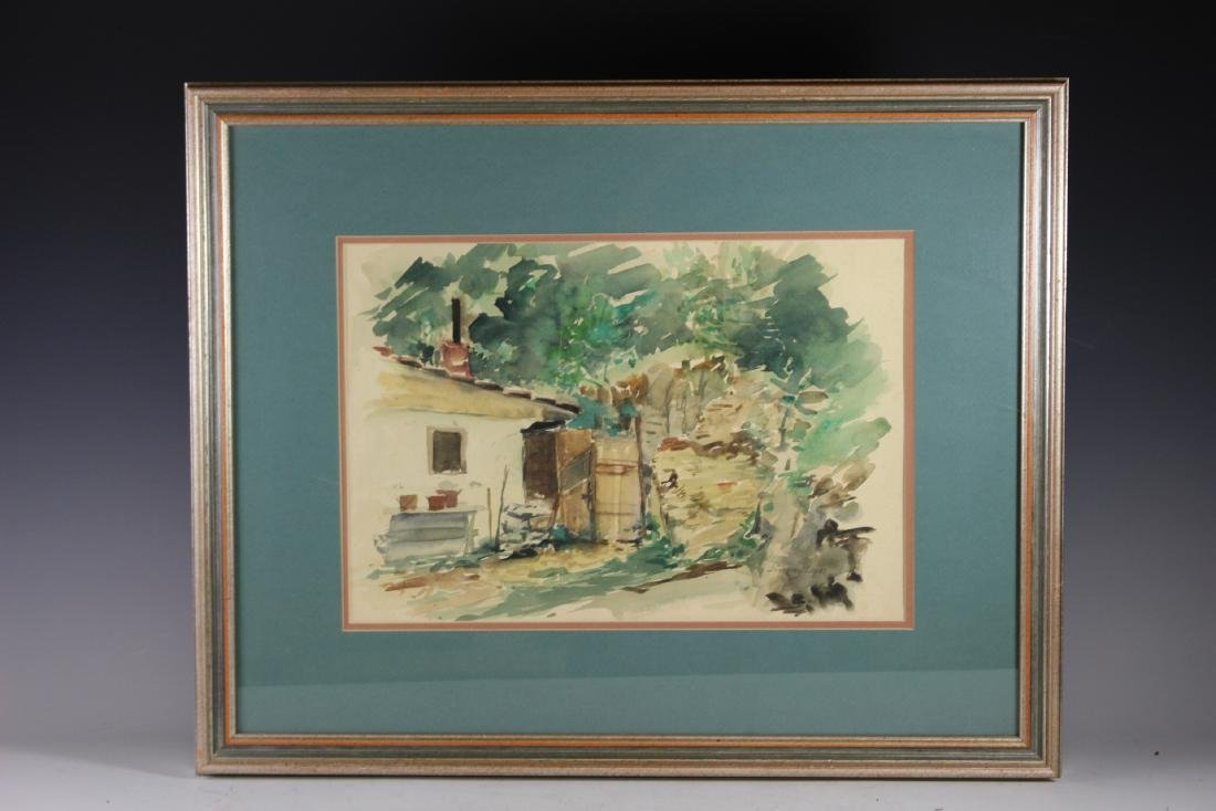 Signed 20th Century Watercolor
