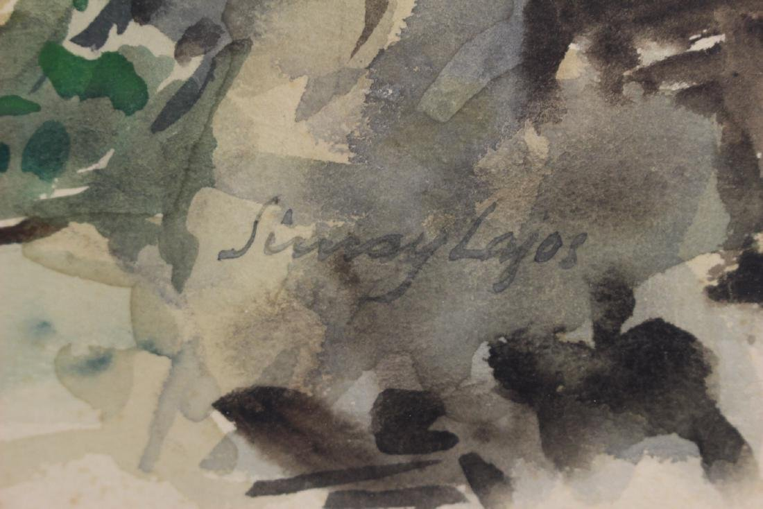 Signed 20th Century Watercolor - 3
