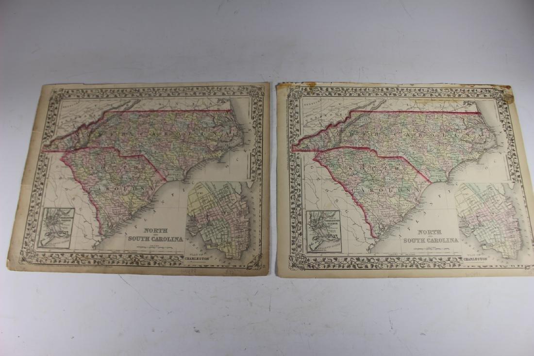 Eight (8) Augustus Mitchell Maps - 10
