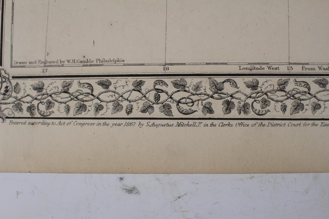 Eight (8) Augustus Mitchell Maps - 4