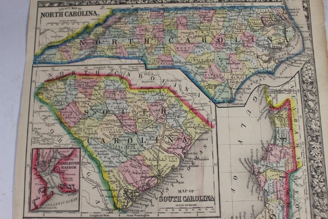 Eight (8) Augustus Mitchell Maps - 7