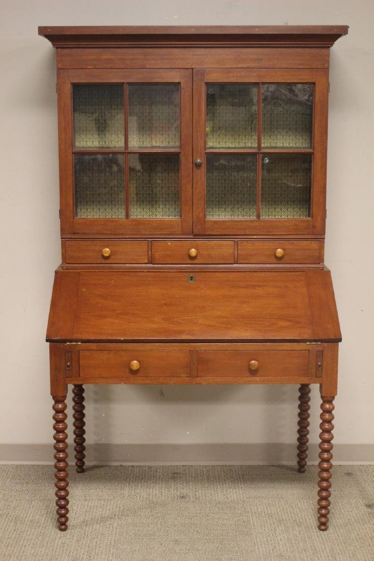 19th Century Cherry Plantation Desk