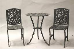 Childs Wrought Iron Patio Set