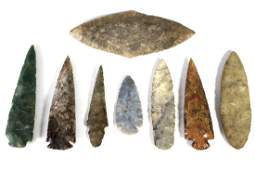Native American Arrowheads Spears Points