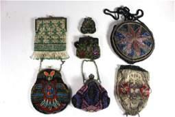 Vintage Ladies Beaded Handbags