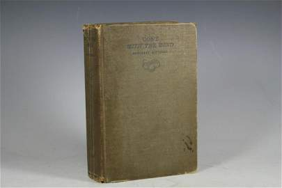 GONE WITH THE WIND  First Edition 1936