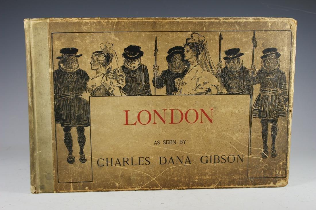 1897 London, as Seen by Charles Dana Gibson Book