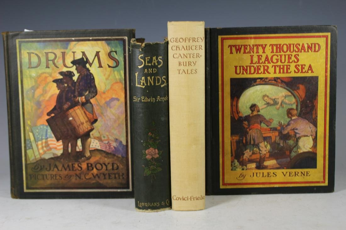 Group of Four Antique Books James Boyd