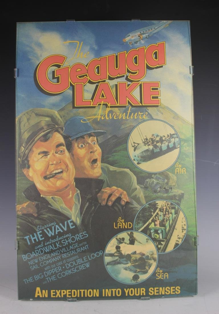 "Original ""The Geauga Lake Adventure"" Poster"