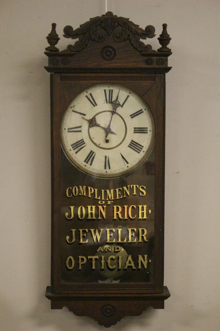 Waterbury Advertising Regulator Clock