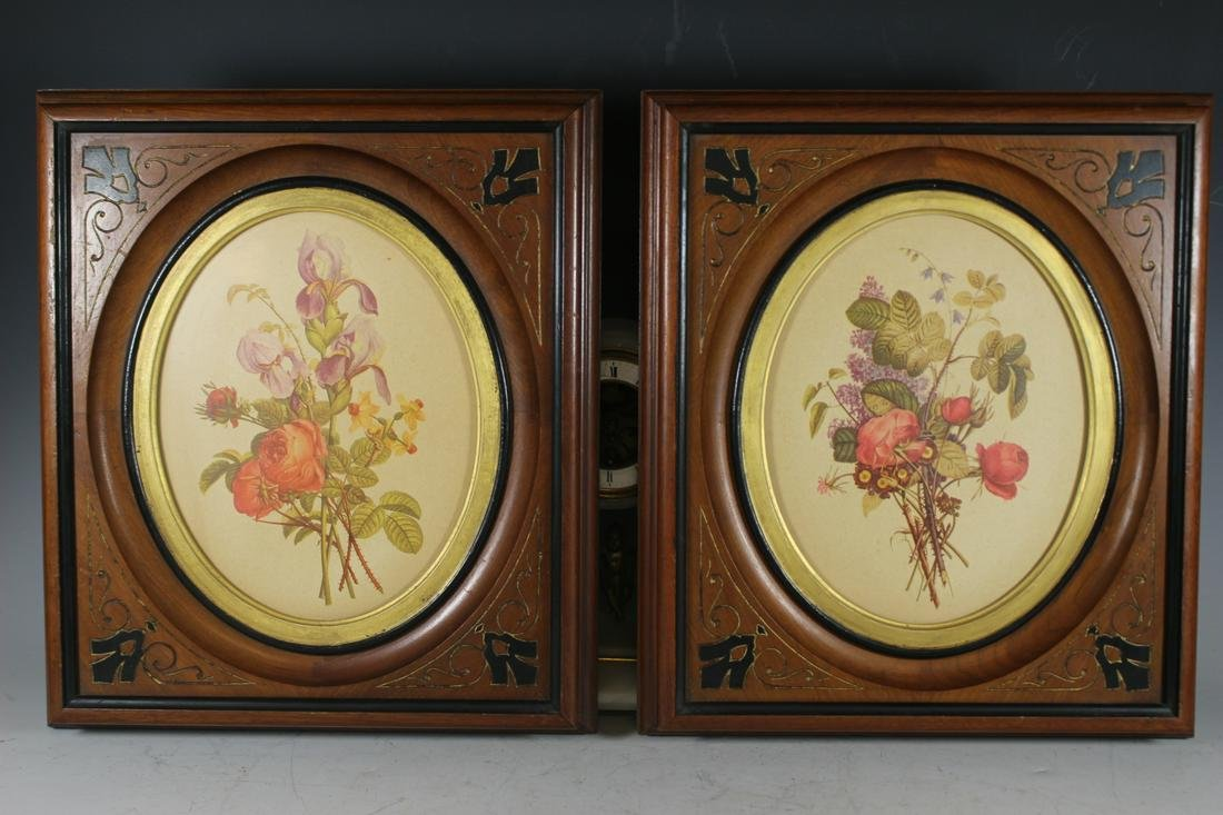 Pair of Aesthetic Movement Frames