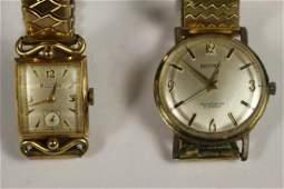 BULOVA and BELFORTE Vintage Watches